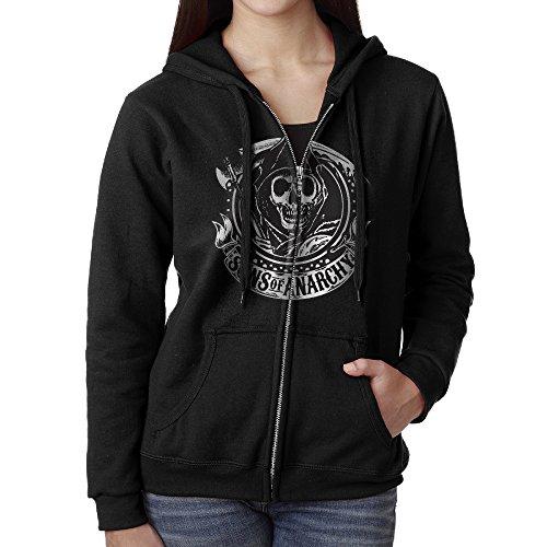 Sons Of Anarchy Women's Fashion Hooded Sweatshirt