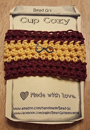 Amazon Crochet Harry Potter Inspired Coffee Cup Cozy Made By