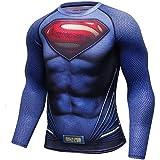 G.P.FitnessGear スポーツウェア スーパーマン 長袖 メンズ ②
