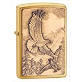 American eagle Zippo Outdoor Indoor Windproof Lighter Free Custom Personalized Engraved Message Permanent Lifetime Engraving on Backside