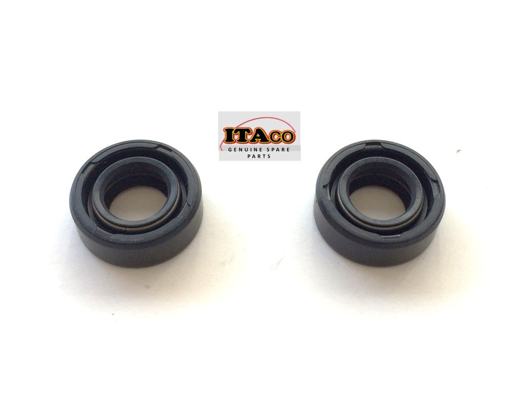 2X OIL SEAL fit Tohatsu Nissan Outboard 369-60111 Engine 4-9.8HP 15 x 28 x 10