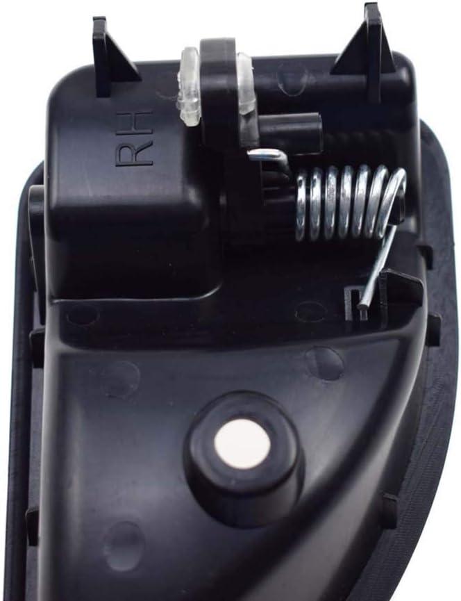 NAYUKY Noir Avant Droit Interne Porte int/érieure Remplacement de poign/ée pour Renault Kangoo Twingo 8200247803