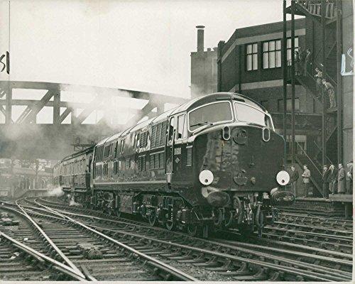 Vintage photo of First Diesel-Hydraulic - Hydraulic Diesel Locomotive