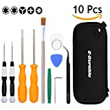 UPDATED Triwing Screwdriver Set, E.Durable Professional GameBit Tool Kit for Nintendo Game Cartridge - Nintendo Switch 3DS Wii WiiU NES SNES DS Lite GBA Gamecube,ETC (Gamebits Set 1)