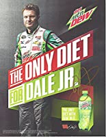 AUTOGRAPHED 2014 Dale Earnhardt Jr. #88 Diet Mountain Dew Racing (The Only Diet for Dale Jr.) Hendrick Signed NASCAR Glossy Photo with COA by Trackside Autographs