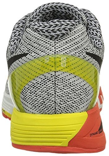 Nike Air Zoom Odyssey, Zapatillas de Running para Hombre Gris / Negro / Amarillo (Sail / Black-Opt Yllw-Ttl Crmsn)