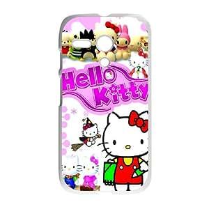 Hello Kitty ROCK0010757 Phone Back Case Customized Art Print Design Hard Shell Protection Motorola G