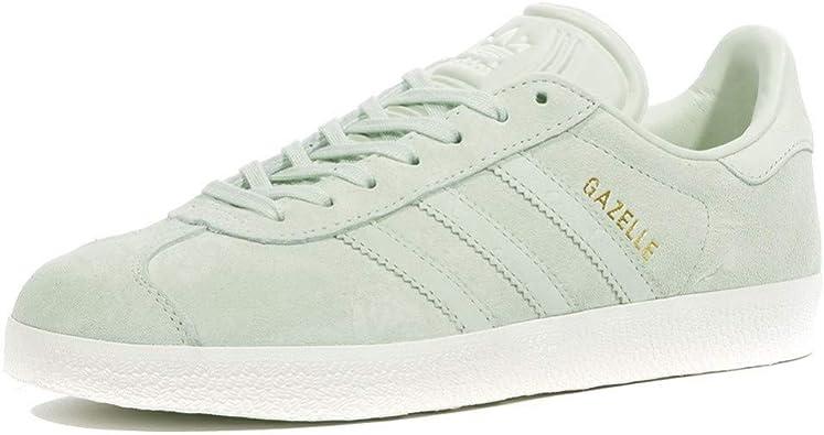 adidas Gazelle Femme Chaussures Vert: Amazon.fr: Chaussures ...