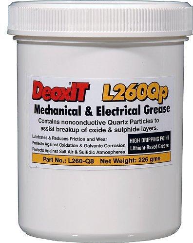 DeoxITL260 Grease L260Qp, jar quartz particles 226 g - L260-Q8 by CAIG Laboratories