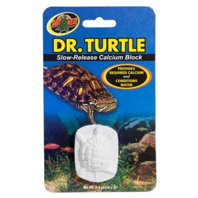 (Dr.Turtle Slow-Release Calcium Block (Pack of 5) by Zoo)