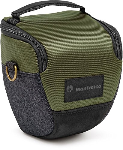 Manfrotto MB MS-H-IGR Holster for DSLR with Lens Attached (Green) ()