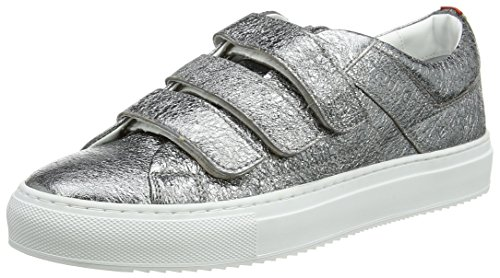 Boss Womens Shoes (Hugo Women's Camden Strap-L Trainers, Grey (Open Miscellaneous 964), 5 UK)