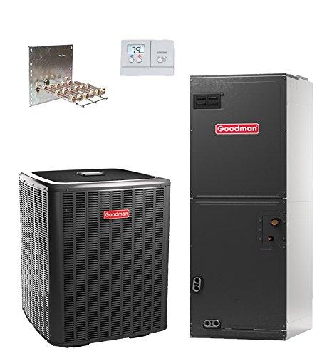 Goodman 2.5 Ton 16 SEER Heat Pump Split System GSZ160301 & ASPT37C14 R-410a