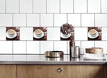 Life Decor Küche Fliesen Aufkleber Eine Tasse Kaffee Vinyl ...