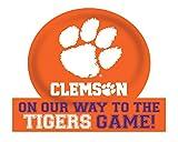 Clemson Tigers Jumbo On Our Way Peel & Stick
