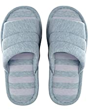 Memorygou Cozy Womens/Mens Home Slippers, Memory Foam Casual Indoor Outdoor Shoes with Open-Toe