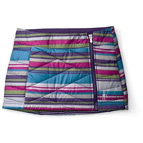 Smartwool Skirt (Smartwool Girls Smartloft Printed Corbet 120 Skirt - Kid's Multi Stripe Medium)