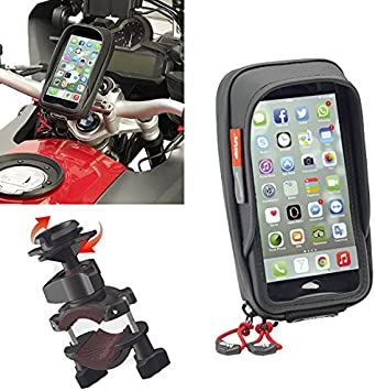 S957B funda para móvil Givi, negra, para moto, scooter, universal ...
