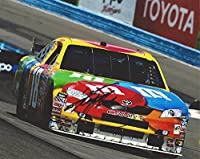 AUTOGRAPHED Kyle Busch #18 M&Ms Car ROAD COURSE RACING (Joe Gibbs Team) Sprint Cup Series Signed Collectible Picture NASCAR 8X10 Inch Glossy Photo with COA from Trackside Autographs