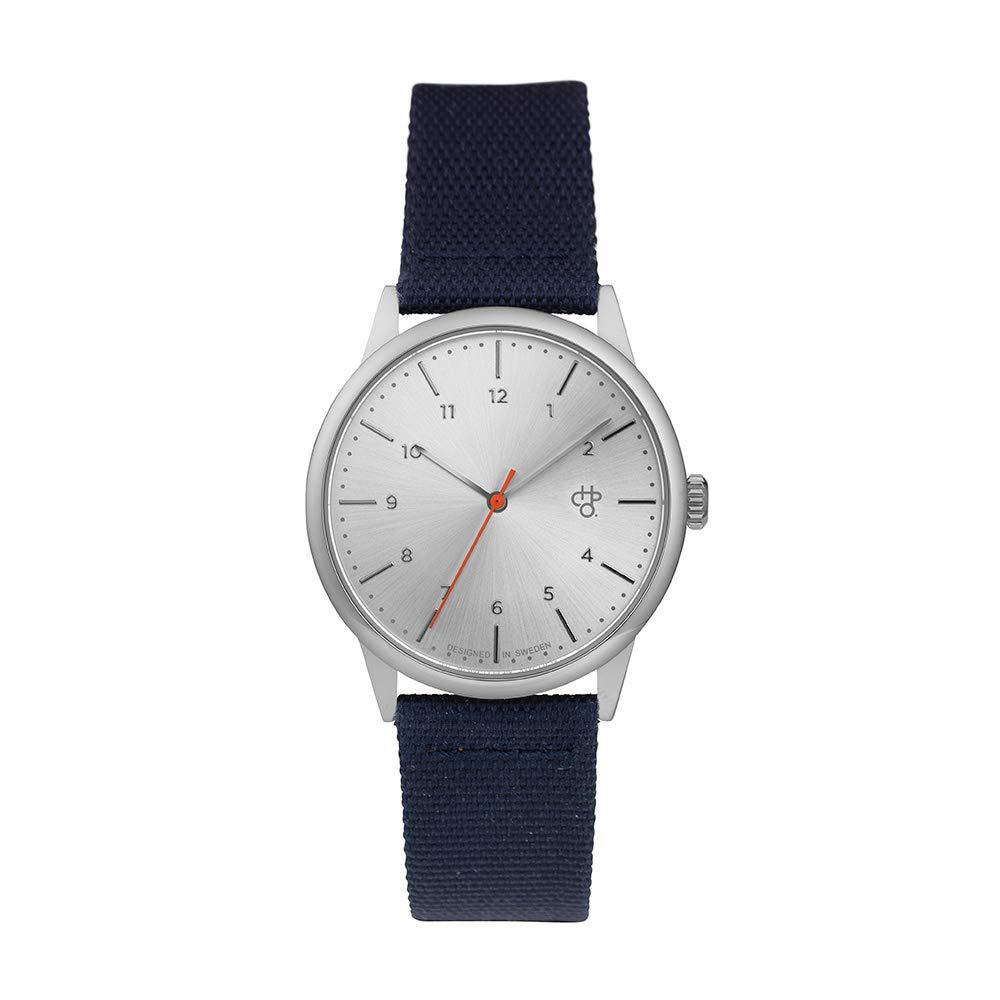 Uhr Mit Stoff Chpo Analog 14234cc Armband Quarz Erwachsene Unisex klXZPTwOiu