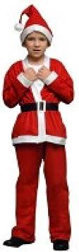 Oferta amazon: Atosa-69213 Atosa-69213-Disfraz Papá Noel niño infantil-talla 10 a 12 años rojo-Navidad, color (69213)