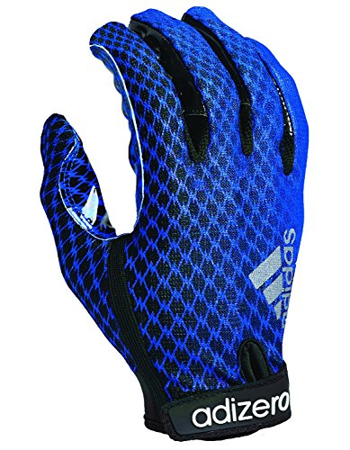 adidas adiZERO 4.0 Adult Football Receiver's Gloves, XL (Adizero Football Gloves compare prices)