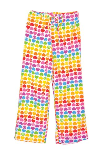 Melissa & Doug Hope Fleece Lounge Pants, Medium (Youth Size 8-10) - Elastic Waist