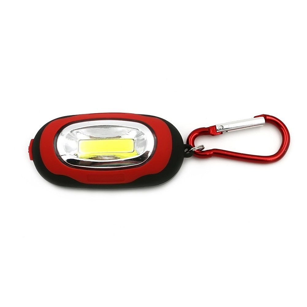 l/ámpara de inspecci/ón 3W LED COB Port/átil Linterna y Linterna llavero para Emergencia,Taller,Autom/óviles Recargable Linterna de trabajo