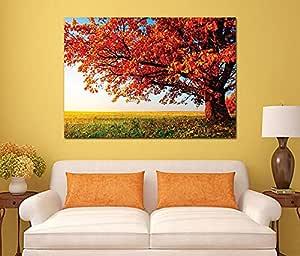 Landscape And Nature Wooden Tableau, 190X190 Cm - 1 Piece