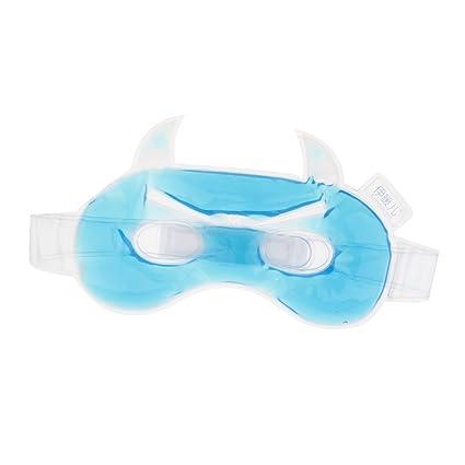D DOLITY Multifuncional Máscara de Ojos de Hielo Fría y Caliente para Relajar Ojos y Aliviar