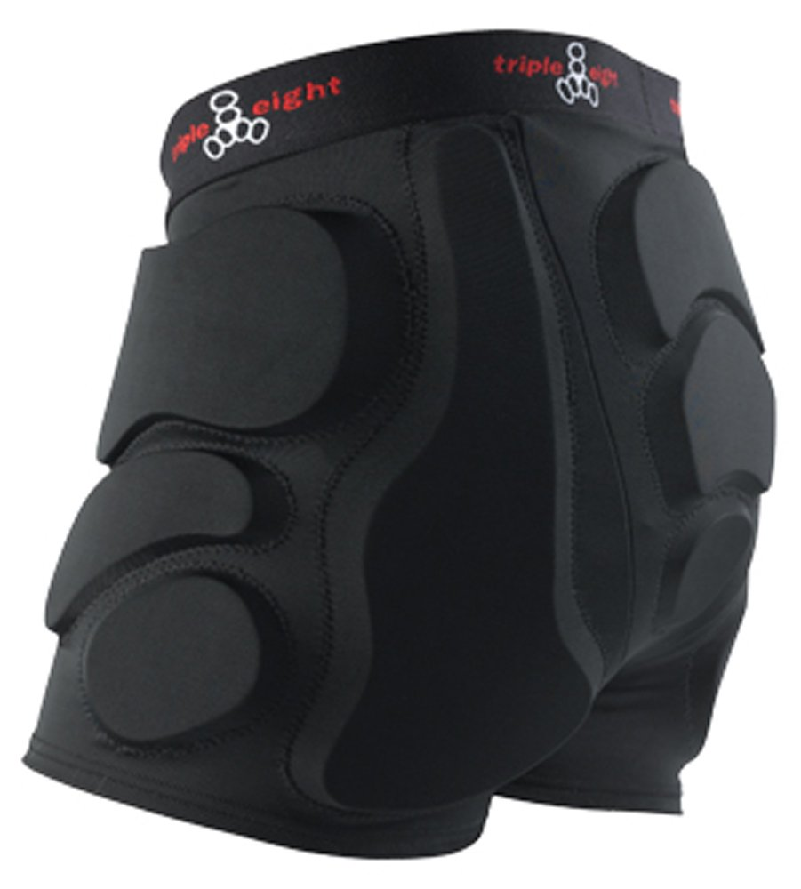 Triple Eight Roller Derby Bumsaver (Black, X-Small)
