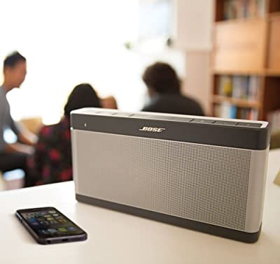 Bose® SoundLink III Portable Bluetooth Speaker and Charger Bundle