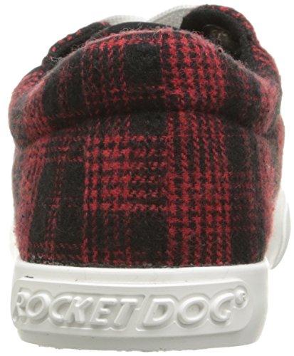 Fusée Chien Femmes Campo Altan Coton Mode Sneaker Rouge
