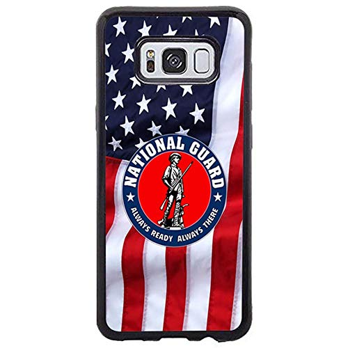 Skinsends Funny United States National Guard Phone case Compatible with Samsung s8 Plus, Always Ready Always There Phone Shell Compatible with Samsung Galaxy s8 Plus