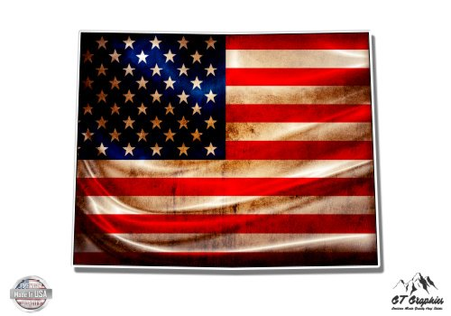 Wyoming American Flag - 20