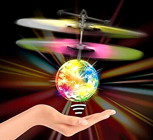 FLASHCOPTER COLORCORE RC Toy, Bright Colorful Lights, Flying