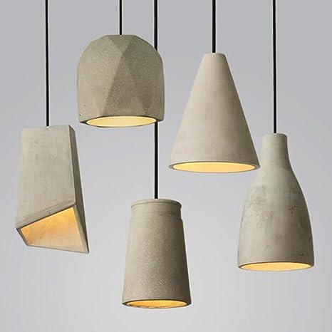E27 colgante vintage lámpara de techo regulable Retro ...