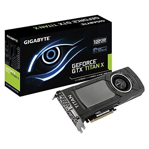 GIGABYTE ビデオカード GTX TITAN X搭載 GV-NTITANXD5-12GD-B
