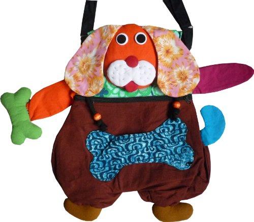 Umhängetasche aus Baumwolle als lustiger Hund