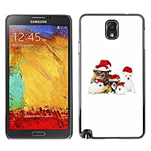 diy phone caseYOYO Slim PC / Aluminium Case Cover Armor Shell Portection //Christmas Holiday Cute Holiday Dog Puppy 1180 //Samsung Note 3diy phone case
