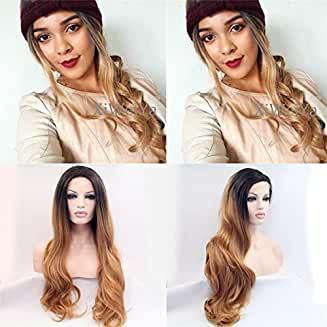 Ombre Brown Lacefront Makena