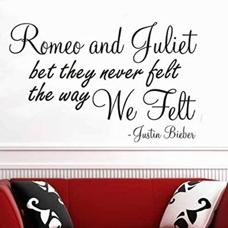 Windsor Adhesivo Decorativo para Pared - Romeo y Julieta Poema ...
