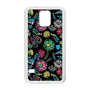 The Colorful Flying Leaves Hight Quality Plastic Case for Samsung Galaxy S5
