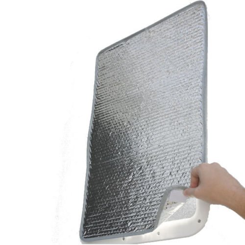 - SunShield Reflective Door Window Cover Protect RV Trailer Camping Travel