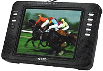 ORBIT Xion TFT - Televisor analógico y Digital portátil de 8 Pulgadas, Color Plateado: Amazon.es: Electrónica