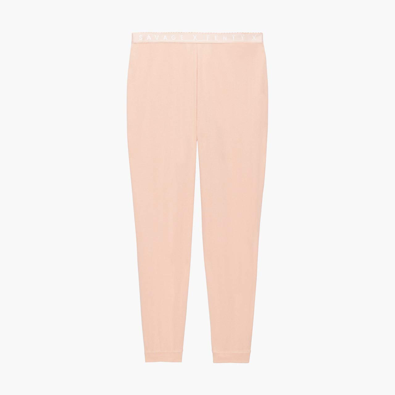 Savage X Fenty Women's Curvy Savage X Thermal Pant, Naked Pink Rose, 2X by Savage X Fenty