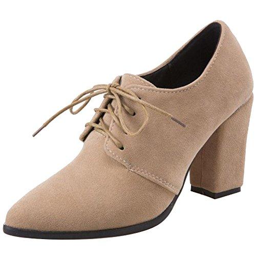 Chaussures Women Vulusvalas Fashion talons et à abricots hauts wSnHUq