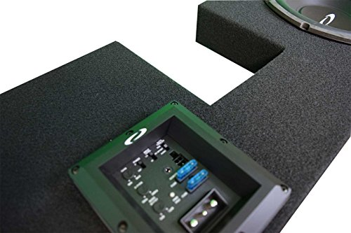 OBCON - Loaded and Amplified Dual 10'' Sealed Speaker Box for 2002 - 2008 Dodge Ram Quad Cab by OBCON (Image #2)