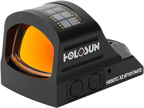 HOLOSUN HS507C-X2 Classic Multi retícula rojo punto vista (negro)