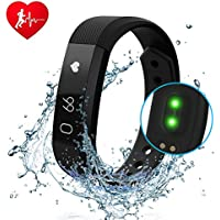 Diwuer Pedometer Activity Waterproof Wristband At A Glance